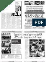Versión impresa del periódico El mexiquense  15 agosto 2013