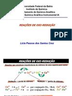 Aula - Reação Oxirredução e Eletroanalítica