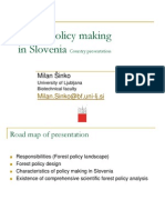 Forest Policy Making Slovenija
