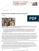 Never Say Die_ The Death of Jesus in the Qur'an _ Religion at the Margins
