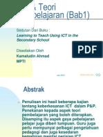 ICT & Teori Pembelajaran (Bab1)