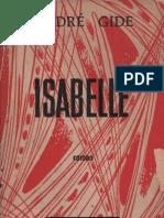 Andre Gide - Isabelle