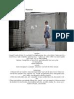 Polka Dot Pintuck Skirt Tutuorial