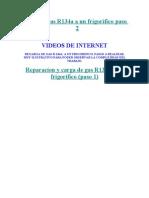 Carga de Gas R134a a Un Frigorifico - Paso 2