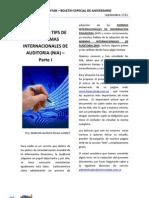 Principales Tips de Las Normas Internacionales de Auditoria