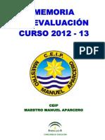 Memoria Curso 2012-13 Aprobada
