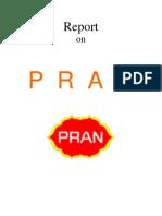 Marketing report on PRAN