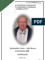 Biobibliografia Acad. Haralambie Corbu