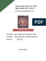 Ingenieria Sismica 28 05 2013