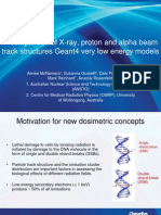 A Comparison of X-Ray, Proton & Alpha Beam Track Structures Geant4 Very Low Energy Models