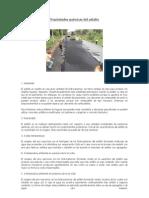 Propiedades químicas del asfalto