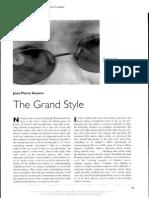 Geuens - The Grand Style