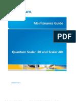 Qauntum Scalar i40i80 i4 Maintenance Guide