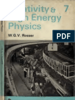 Relativity & High Energy Physics - Rosser (Wykeham Publications Ltd. 1969)
