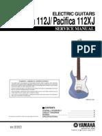 Yamaha Pac 112j Svc Manual