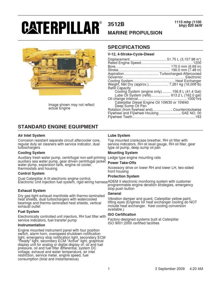 Caterpillar 3512b Engines Internal Combustion Engine Cat 3512 Tier 4 Cat  3512b Wiring Harness