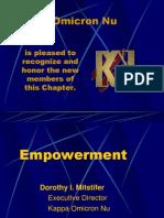 Empowerment need