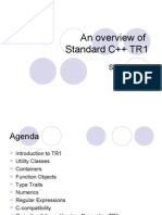 An Overview Of Standard C++ TR1