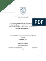 Turistas y comunidad Construcción y significación del ecoturismo en la Sierra Gorda de Querétaro