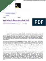 O Credo da Reconstrução Cristã _ Portal da Teologia.pdf