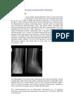 Mr Simon Moyes -Ankle Arthrodesis