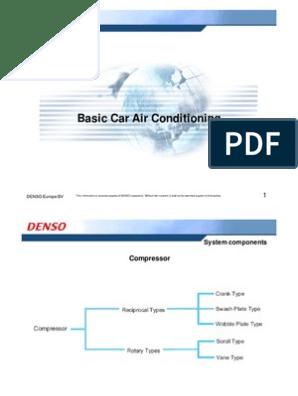 Basic Car AC Training Day 2   Gas Compressor   Air Conditioning