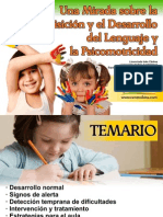 Adquisición y Desarrollo del Lenguaje y la Psicomotricidad