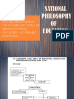 National Philosophy in Education (1)