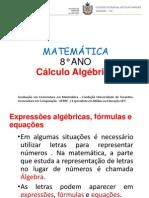 CÁLCULO ALGÉBRICO - 8° ANO.pptx