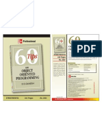 """""""60 tips on object oriented programming"""" Brochure"""