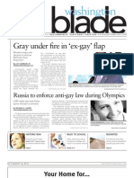 Washingtonblade.com - Volume 44, Issue 33 - August 16, 2013