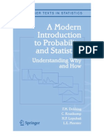 Introduction to prabability and statistics