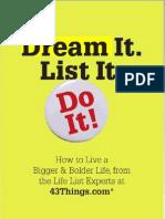 Dream It List i Do It