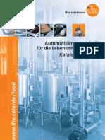 Automatisierungstechnik für die Lebensmittelindustrie - Katalog Deutsch 2013/2014