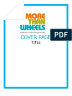 More Than Wheels Transportation eBook