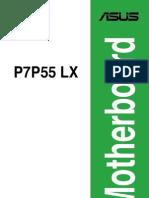 Asus p7p55 Lx User Manual