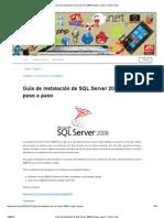 Guía de instalación de SQL Server 2008 R2 paso a paso _ Punto Code