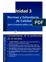 Modelo UNE 13816 Para CALIDAD en El Sistema de Transporte