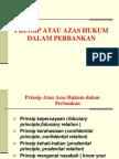 Hukum Perbankan 3 (Prinsip Perbankan)