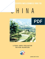 Peace Corps China Welcome Book - June 2013