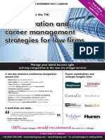 Remuneration and career management strategies for law firms
