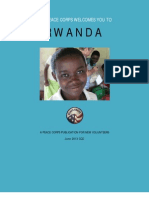 Peace Corps Rwanda Welcome Book - June 2013
