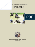 Peace Corps Thailand Welcome Book - June 2013