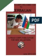 Peace Corps Azerbaijan Welcome Book - June 2013