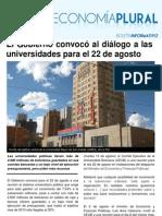Boletín Economía Plural N° 45