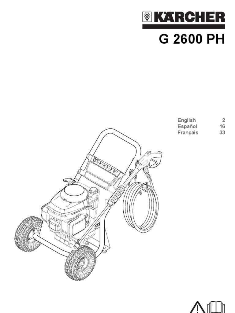 Manual Karcher Mug2600ph