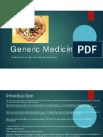 Generic Medicines