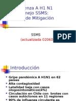 Influenza a H1 N1 SSMS APS Actualizada 020609