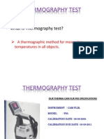 Thermograpy Test
