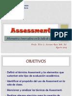 1. Assessment en La Sala de Clases - CSAI 2-2013